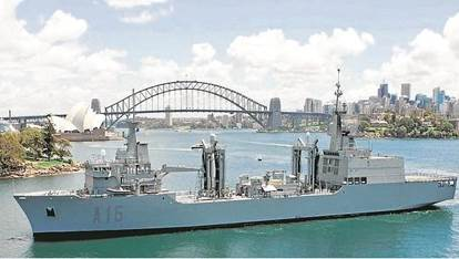 Raytheon Australia y Navantia Sistemas firman el contrato para el diseño, fabricación y pruebas del Sistema de Comunicaciones de los dos AOR para Australia